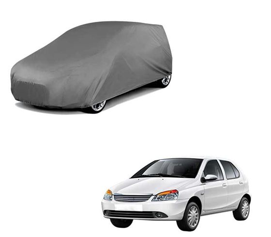 Picture of Car Body Cover For Tata Indica - Matty Grey