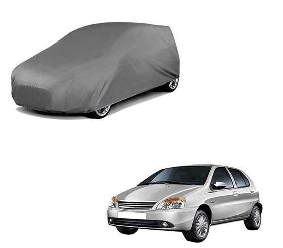 Picture of Car Body Cover For Tata Indicab - Matty Grey