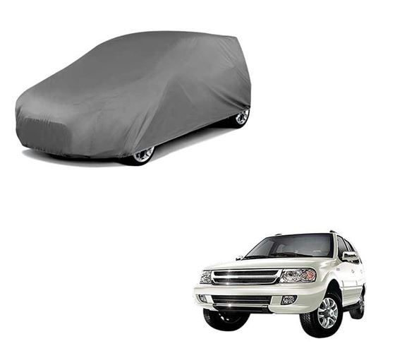 Picture of Car Body Cover For Tata Safari - Matty Grey