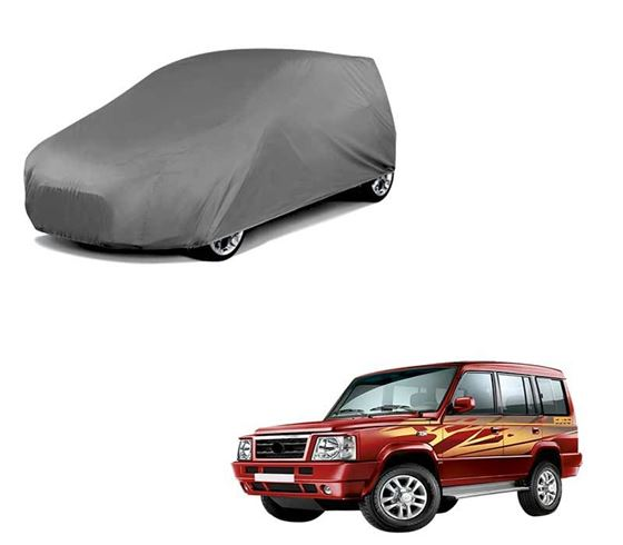 Picture of Car Body Cover For Tata Sumo Gold - Matty Grey