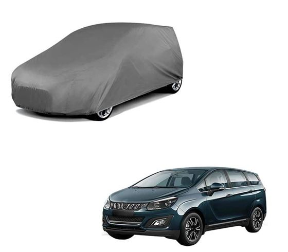 Picture of Matty Grey Car Body Cover For Mahindra Marazzo - Grey