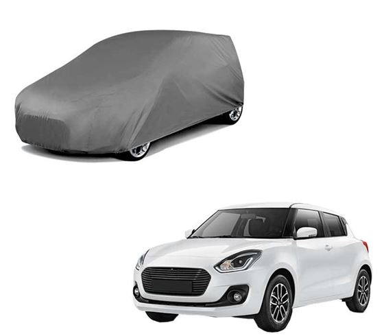 Picture of Matty Grey Car Body Cover For Maruti Swift 2018 - Grey