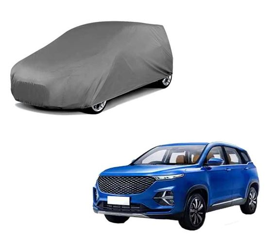 Picture of Matty Grey Car Body Cover For MG Hector Plus 2020 - Grey