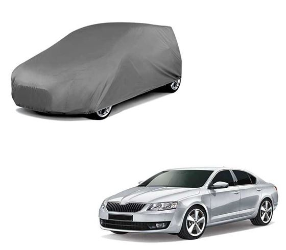 Picture of Matty Grey Car Body Cover For Skoda Octavia 2019 - Grey