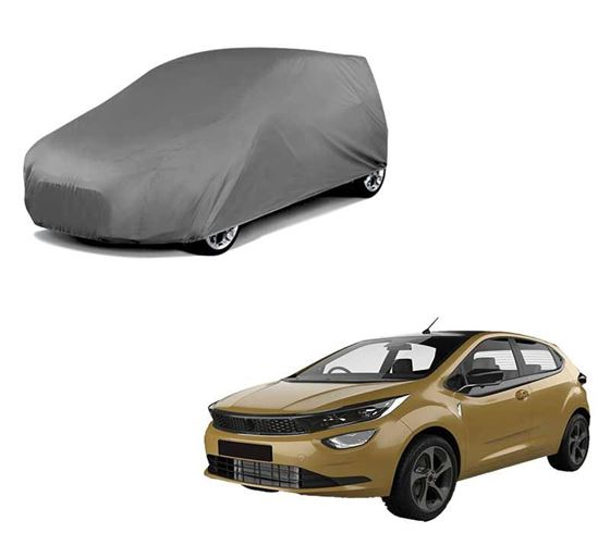 Picture of Matty Grey Car Body Cover For Tata Altroz 2020 - Grey
