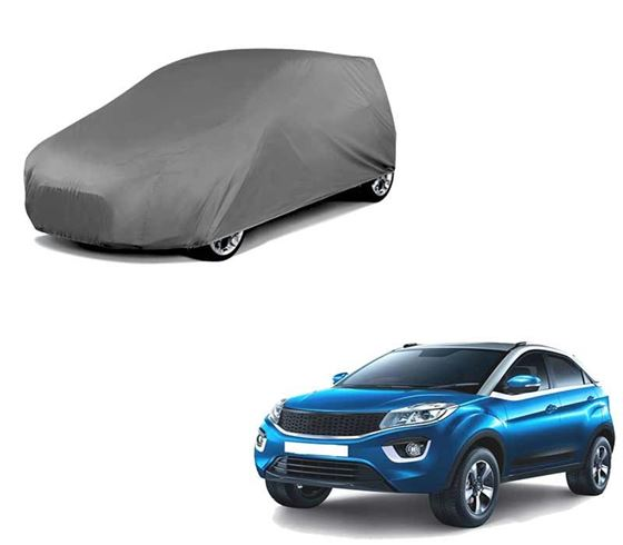 Picture of Matty Grey Car Body Cover For Tata Nexon 2020 - Grey