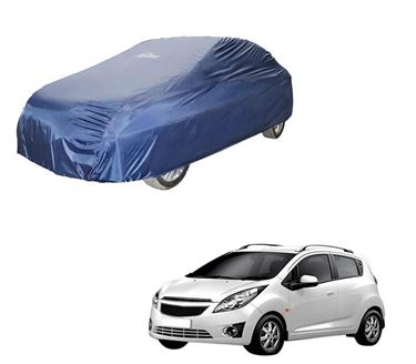 Picture of Parachute Blue Car Body Cover For Chevrolet Beat