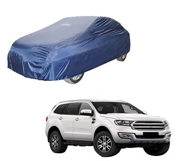 Picture of Parachute Blue Car Body Cover For Ford Endeavour