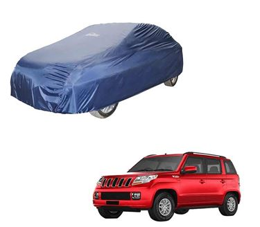 Picture of Parachute Blue Car Body Cover For Mahindra TUV300