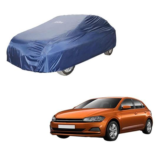 Picture of Parachute Blue Car Body Cover For Volkswagen Polo