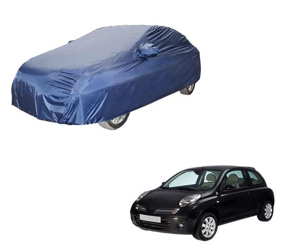 Picture of Parker Blue Car Body Cover For Nissan Micra