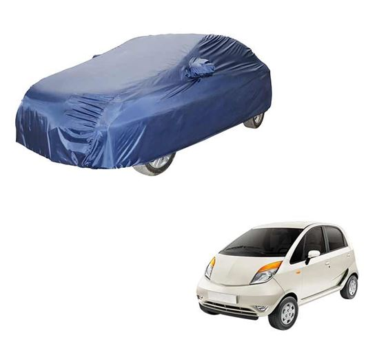 Picture of Parker Blue Car Body Cover For Tata Nano