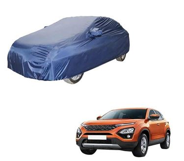 Picture of Parker Blue Car Body Cover For Tata Harrier 2019