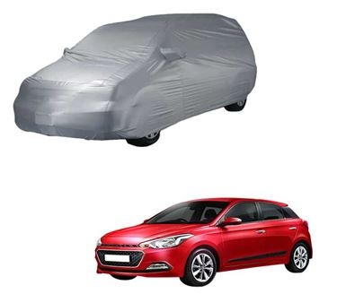 Picture of Parx Silver Car Body Cover For Hyundai Elite i20
