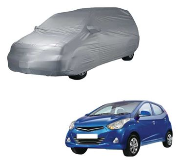 Picture of Parx Silver Car Body Cover For Hyundai Eon