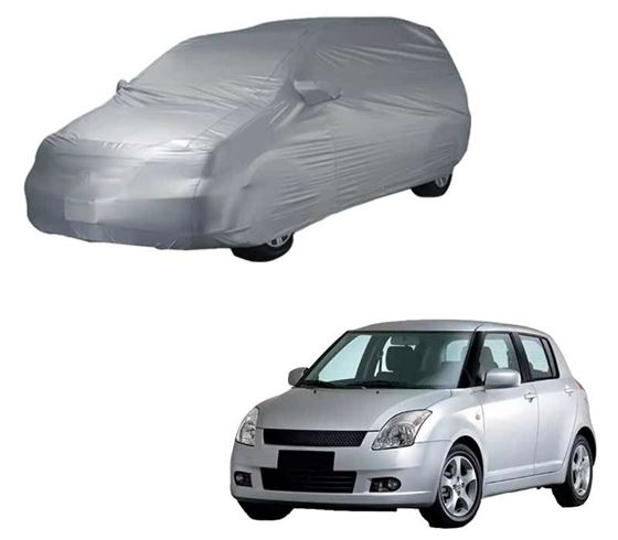Picture of Parx Silver Car Body Cover For Maruti Swift