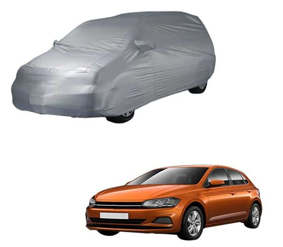 Picture of Parx Silver Car Body Cover For Volkswagen Polo