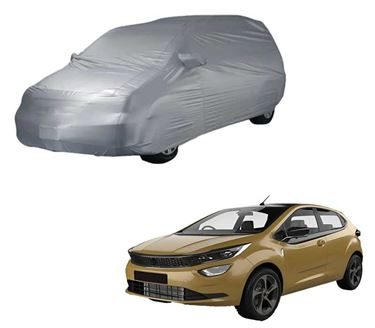 Picture of Parx Silver Car Body Cover Compatible with Tata Altroz 2020 - Parx Silver