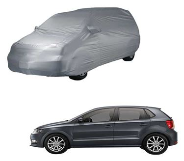 Picture of Parx Silver Car Body Cover Compatible with Volkswagen Polo GT - Parx Silver