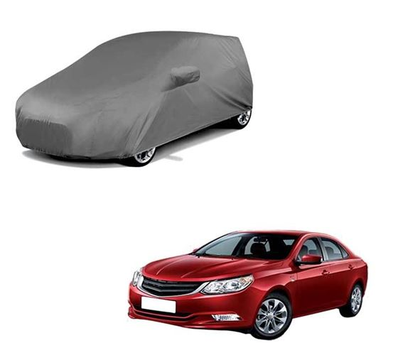 Picture of Car Body Cover For Chevrolet Optra - Premium Grey