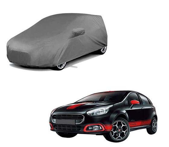 Picture of Car Body Cover For Fiat Abarth Punto - Premium Grey