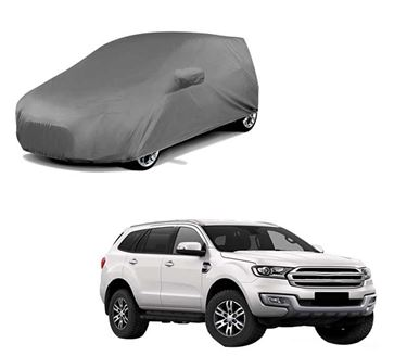 Picture of Car Body Cover For Ford Endeavour - Premium Grey