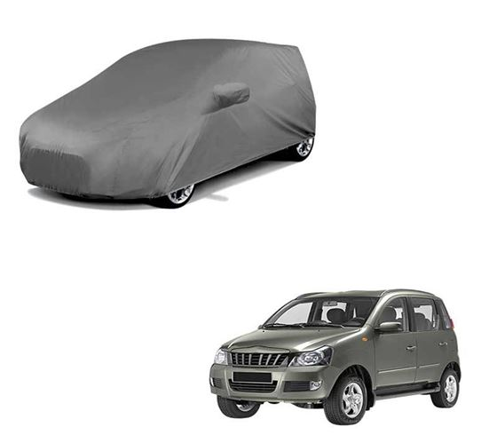 Picture of Car Body Cover For Mahindra Quanto - Premium Grey