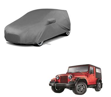 Picture of Car Body Cover For Mahindra Thar - Premium Grey