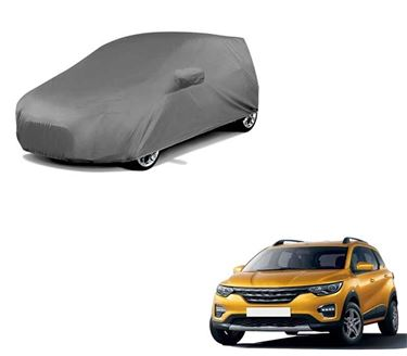 Picture of Premium Grey Car Body Cover For Renault Triber 2019 - Grey