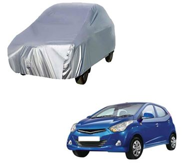 Picture of Silver Car Body Cover For Hyundai Eon