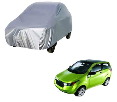 Picture of Silver Car Body Cover For Mahindra Reva