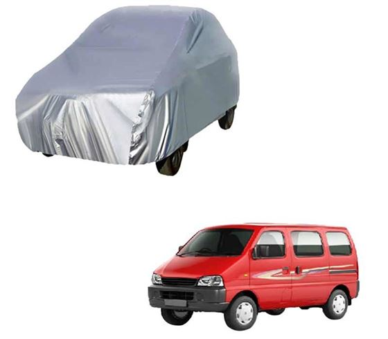 Picture of Silver Car Body Cover For Maruti Eeco