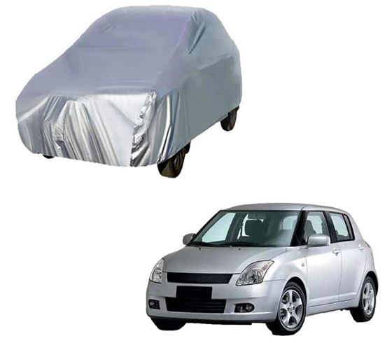 Picture of Silver Car Body Cover For Maruti Swift