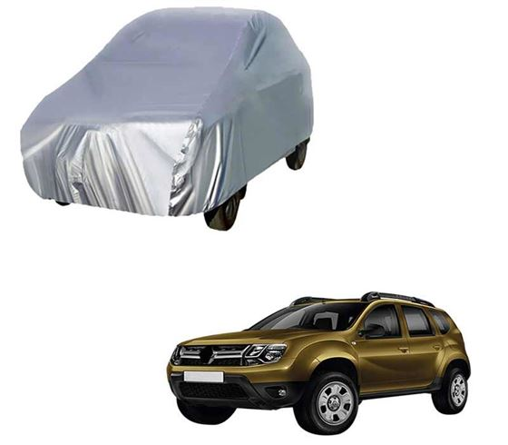 Picture of Silver Car Body Cover For Renault Duster