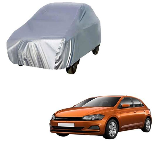 Picture of Silver Car Body Cover For Volkswagen Polo
