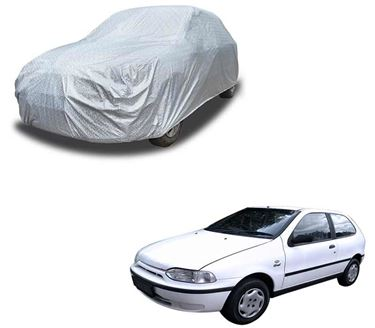 Picture of Glaze Waterproof Heat Resistant Car Body Cover Compatible With Fiat Palio D - Glaze Silver