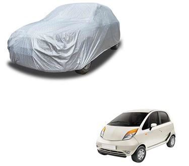 Picture of Glaze Waterproof Heat Resistant Car Body Cover Compatible With Tata Nano - Glaze Silver