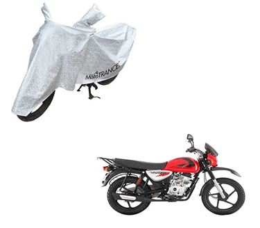Picture of Aero Silver 100% Waterproof Two Wheeler Cover For Bajaj Boxer