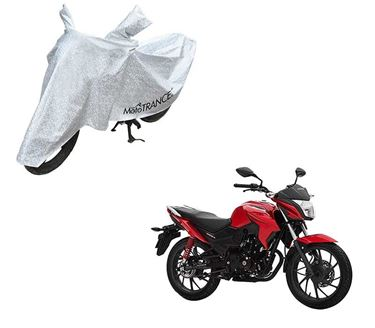 Picture of Aero Silver 100% Waterproof Two Wheeler Cover For Honda CB Twister