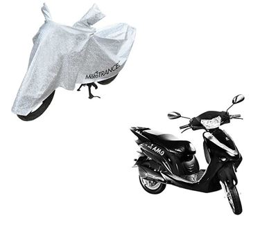Picture of Aero Silver 100% Waterproof Two Wheeler Cover For Lohia Omastar