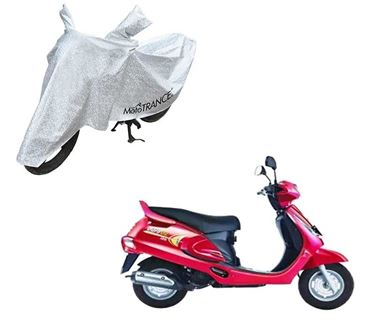Picture of Aero Silver 100% Waterproof Two Wheeler Cover For Mahindra Duro
