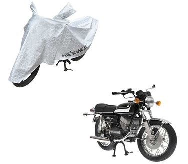 Picture of Aero Silver 100% Waterproof Two Wheeler Cover For Yamaha RD 350