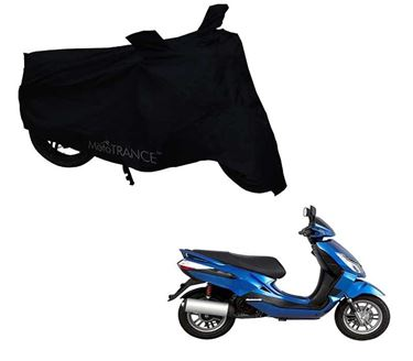 Picture of Black Two Wheeler Cover For Bajaj Blade 125