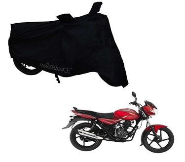 Picture of Black Two Wheeler Cover For Bajaj Discover 100M