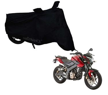 Picture of Black Two Wheeler Cover For Bajaj Pulsar 150NS