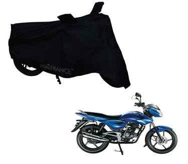 Picture of Black Two Wheeler Cover For Bajaj XCD 135