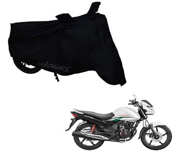 Picture of Black Two Wheeler Cover For Hero Achiever