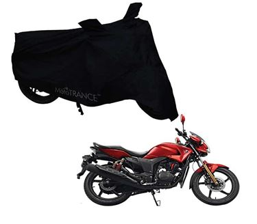 Picture of Black Two Wheeler Cover For Hero Hunk