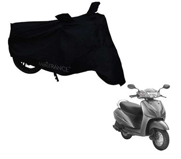 Picture of Black Two Wheeler Cover For Honda Activa 3G