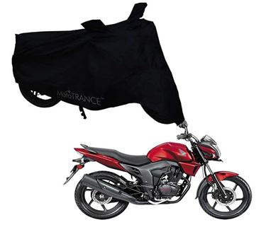 Picture of Black Two Wheeler Cover For Honda CB Trigger